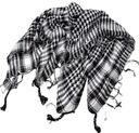 Chusta arafatka szal apaszka w kratę szalik kefija EAN 5906245252615