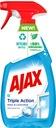 AJAX TRIPLE ACTION płyn do szyb spray 3x500ml EAN 9980000000679