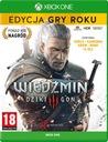 WIEDŹMIN 3 DZIKI GON - ED. GRY ROKU - Kod XBOX ONE Wersja językowa Polska