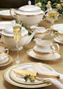 VILLA ITALIA RARITA GOLD Serwis obiadowy na 12 os Linia RARITA GOLD
