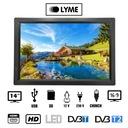 Telewizor samochodowy TV 14 cali DVBT USB 12V AKU Marka inna