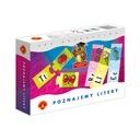 2 Gry POZNAJEMY LITERY + Remik Liczbowy MINI ALEX Kod producenta 5906018004809