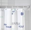 DRĄŻEK ROZPOROWY na zasłonę prysznicową 110-185 cm Marka Wenko
