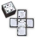 Prezent Pamiątka Na Ślub Ślubna Box Exploding Rodzaj kartki okolicznościowe