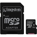 KINGSTON KARTA 128 GB MICRO SD CLASS 10 + CZYTNIK Producent Kingston