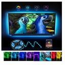 TAŚMA TV LAMPA LED RGB USB LEDY ZAROWKA 4M ZAROWKI Marka aiopp
