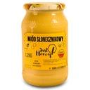 Miód słonecznikowy nektarowy 100% naturalny 1,2 kg