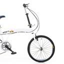 20calowy 7biegowy podwójny hamulec składany rower Marka Inna marka