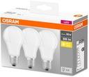 3x Żarówka LED E27 A60 8,5W = 60W 806lm OSRAM
