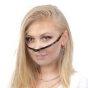 Przyłbica maska ochronna na usta i nos kosmetyczna Rodzaj okularowa (zakładana jak okulary)