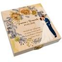 Pudełko na pieniądze banknoty prezent ślub wesele