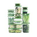 Ikea PRUTA Pojemniki na żywność MEGA zestaw 24h Materiał wykonania tworzywo sztuczne