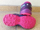 Buty Salomon speedcross 32 Kolor fioletowy różowy