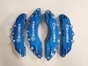 Nakładki 3D zaciski hamulce BREMBO L+M Niebieskie Producent inny