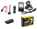 ADAPTER USB na SATA ATA IDE 2,5 3,5 + LED+ZASILACZ Kod producenta marec1137
