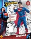 SUPERMAN KOSTIUM Z MIĘŚNIAMI STRÓJ 8-10 L LICENCJA EAN 883028136773