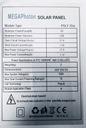 BATERIA SŁONECZNA PANEL SOLARNY 20W 10A REGULATOR Waga produktu z opakowaniem jednostkowym 2 kg