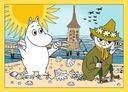 Puzzle 4w1 - Wesoły dzień Muminków 34368 Marka Trefl