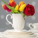 VILLA ITALIA SAKURA Serwis obiadowy + kawowy 6/42 Informacje dodatkowe możliwość mycia w zmywarce możliwość użycia w kuchence mikrofalowej