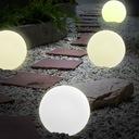 LAMPA LAMPA KULA ŚWIETLNA E27 LED OGRODOWA STOJĄCA Średnica/szerokość 35 cm