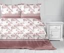 Pościel 100% bawełniana 160x200 Bielbaw Romantyczn Wymiary poduszki 70x80cm