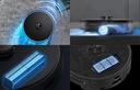 Inteligentny Robot Odkurzacz Viomi S9 Alpha Czarny Typ akumulatora litowo-jonowy
