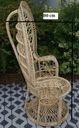 Fotel Rattan PAW plecione Fotele NOWY solidny HIT Rodzaj tradycyjny