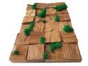 Чудо instagram Декоративные 3d Мозаика Дерево ???