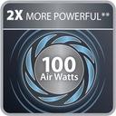 ODKURZACZ TEFAL AIR FORCE 360 FLEX PRO TY 9472 Komunikacja wskaźnik zapełnienia worka/pojemnika wskaźnik stanu akumulatora