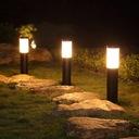 Lampa ogrodowa stojąca słupek do LED E27 45cm Średnica/szerokość 7.6 cm