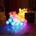 Girlandy Lampki Rose Ogrodowe Solarne 30 LED 6.5m Cechy dodatkowe wodoodporność zasilanie energią słoneczną