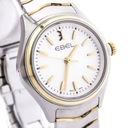 Zegarek EBEL 1216195 datownik szafir SWISS MADE Kolor szary, srebrny żółty, złoty