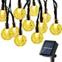 Lampki Solarne Ogrodowe Żarówka Lampa 20 LED 5 M Marka Lampki