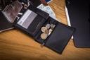 Skórzany portfel męski suwak BETLEWSKI RFID duży Model ETPM-KZ-575
