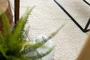 Dywan BOHO shaggy 80x150 frędzle krem #GR3838 Wzór jednobarwny