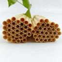 Słomki bambusowe rurki ekologiczne do picia 10szt Kod produktu wielorazowe EKO ECO
