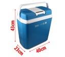 24L холодильник туристическая АВТОМОБИЛЬНАЯ 12В и 230