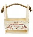 PREZENT NA DZIEŃ BABCI nosidło z grawerem skrzynka Kod produktu Doniczka na kwiaty grawer różne wzory