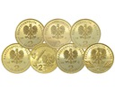 2 zł NG 2002 r. KOMPLET 7 MONET MENNICZE Rodzaj monet Zestawy