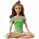 Barbie Made to Move gimnastyczka brunetka 2021 Kod producenta GXF05