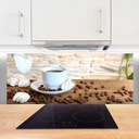 Panel szklany do kuchni Kawa Ziarna 125x50 Marka Tulup