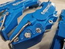 Nakładki 3D zaciski hamulce BREMBO L+M Niebieskie Numer katalogowy producenta LMBe