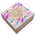 Pamiątka na urodziny pudełko na herbatę prezent