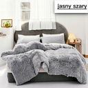 одеяло WŁOCHACZ МОХНАТЫЙ ПЛЕД ПОКРЫВАЛО НА кровать 200x220