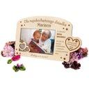 Dzień Dziadka Dzień Babci Ramka na Zdjęcia Grawer Informacje dodatkowe z grawerem