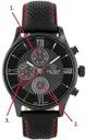 Zegarek Gino Rossi Exclusive CHRONOGRAF BOX GRAWER Styl klasyczny