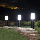 Lampa ogrodowa stojąca słupek do LED E27 45cm Wysokość 45 cm