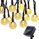 50 Led 9.5 M Lampki Solarne Ogrodowe Żarówka Lampa