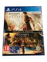 ASSASSIN'S CREED ORIGINS + ODYSSEY PL PS4 NOWA