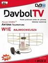 NAJMOCNIEJSZA ANTENA POKOJOWA DVB-T DAVBOL ++35dB EAN 5902270750362